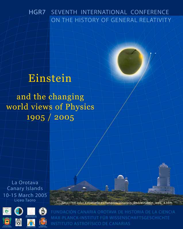 Cartel de Einstein and the Changing World Views of Physics, 1905/2005